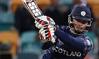 Scotland defeat Hong Kong to register their maiden win in a global ICC event