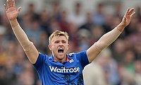 England claim 14-run win in warm-up game despite David Willey's hat-trick