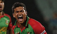 Taskin Ahmed, Arafat Sunny suspended for illegal bowling action