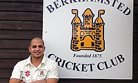 Chad Fortune, pictured here at Berkhamsted CC