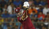 Lendl Simmons scored an unbeaten 82 for West Indies in the chase.