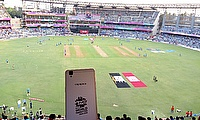The scene was set at the Wankhede for a great game - but the home fans left disappointed
