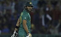 Shahid Afridi steps down as Pakistan T20I captain