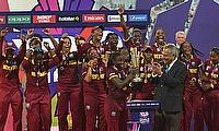 West Indies lift the ICC Women's World T20 trophy