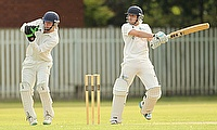 Sale Cricket Club captain Chris Canning in action