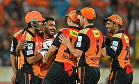 Sunrisers Hyderabad prevail over Gujarat Lions in low scoring encounter