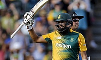 Hashim Amla missed his maiden century in T20 by just four runs.