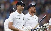 Gains for Jonny Bairstow and James Anderson in ICC rankings