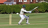 Will Sissons, Wales U15 captain, batting at Rydal Penrhos School