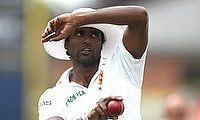Shaminda Eranga has taken just one wicket in the series so far