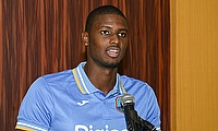 Jason Holder in a press conference ahead of the tri-series.