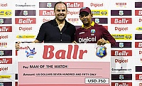 Sunil Narine (right) was awarded the man of the match for his six-wicket haul against South Africa.