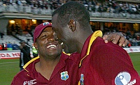 Courtney Browne (right) will replace Clive Lloyd as chairman of selectors.