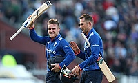 Jason Roy (left) and Alex Hales (right) added unbeaten 256 runs for the opening wicket.