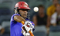 Rahmat Shah shines for Afghanistan as rain forces abandonment