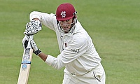 Marcus Trescothick scored 106 off 111 deliveries for Somerset.