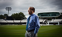 Qamar Ahmed at Lord's, the home of cricket