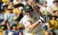 Steven Smith scored 57 for Australia in the first innings.
