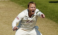 Gareth Batty took six wickets to bowl Surrey to victory over Hampshire