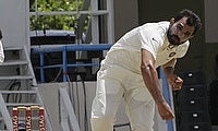 Mohammad Shami picked four wickets on day three to rattle West Indies.