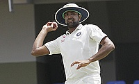 Ravichandran Ashwin picked his first five-wicket haul outside Asia.