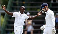 Kagiso Rabada (left) won six awards after having a sensational last one-year.
