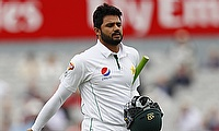 Azhar Ali's knock was laced with 10 boundaries and a six.