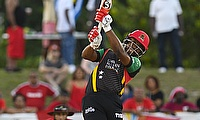 Evin Lewis scored 79 off just 40 deliveries.