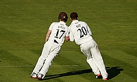 Rory Burns and Jason Roy put together a big partnership with the bat for Surrey against Middlesex