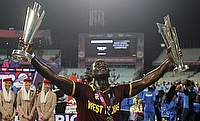 Darren Sammy is the only captain to have won two ICC World T20 tournaments.