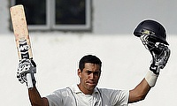Ross Taylor scored his second consecutive unbeaten century in the series.