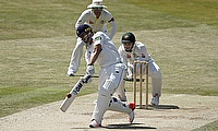 Ryan ten Doeschate's century helped Essex secure a draw against Sussex