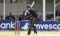 Joe Denly in action for Kent