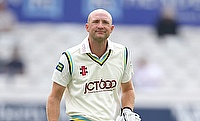 Adam Lyth was in the runs again as Yorkshire held off Lancashire to draw the Roses clash