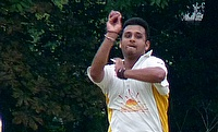 Rohan Desai in action