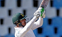 Quinton de Kock scored a breezy half-century for South Africa in the second innings.