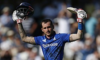 Alex Hales scored 171 off just 122 deliveries.
