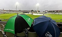 Rain and bad light played spoilsport in Edgbaston as well.