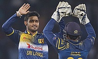 Milinda Siriwardana (left) has been drafted into the T20 squad.