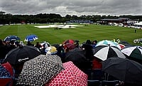First ODI rescheduled after heavy overnight rain forces abandonment