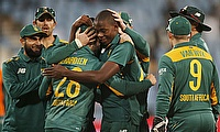 South Africa are tied with India with 110 points in the ODI rankings.