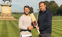 Richard Harris with Ben Duckett