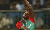 Al-Amin Hossain was earlier dropped for the ODI series against Afghanistan