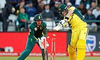 Steve Smith (right) was disappointed with Australia's performance against South Africa