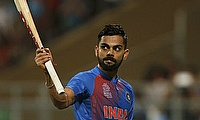 Virat Kohli's 154 inspires India to seven-wicket victory