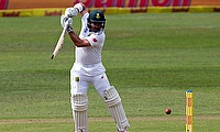 Dean Elgar scored a fine century for South Africa