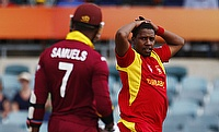 Tinashe Panyangara (right) returns for Zimbabwe from injury