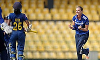 Laura Marsh led the England bowling attack with a four-wicket haul
