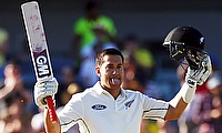 Ross Taylor scored 102 off just 134 deliveries