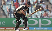 Colin Munro scored a patient 49 for New Zealand in the first game.